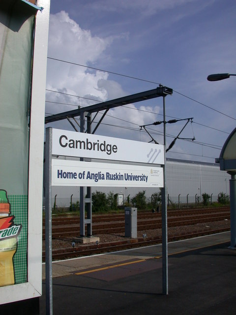 Cambridge, the home of - Anglia Ruskin University!