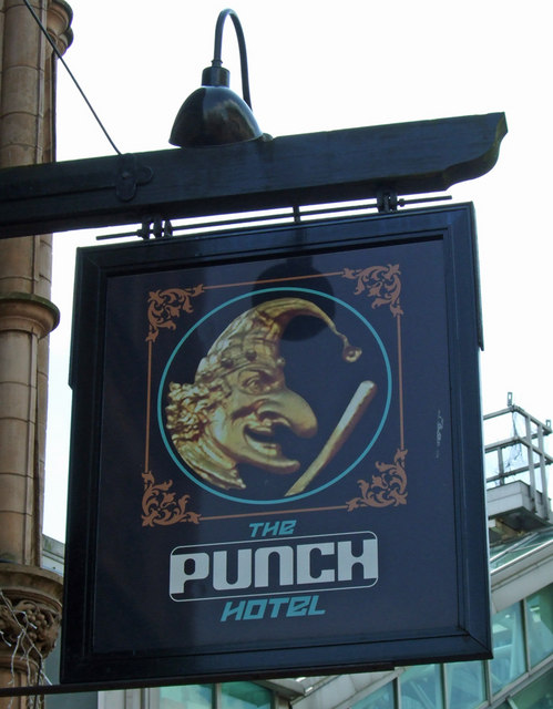 The Sign of The Punch Hotel
