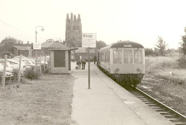 Wrexham Central station