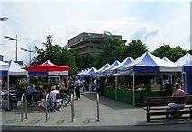 SE1039 : Bingley Market - Main Street by Betty Longbottom