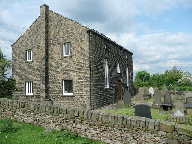 Rishworth Congregational Chapel, Parrock Nook, Rishworth