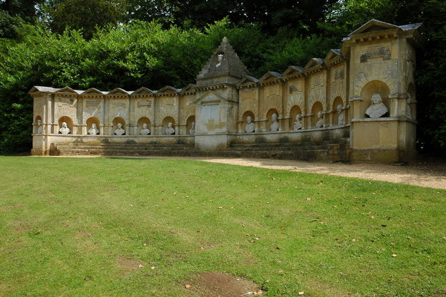 Temple of British Worthies, Stowe