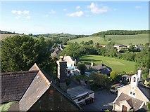 SX8663 : Marldon: buildings below the church by Derek Harper