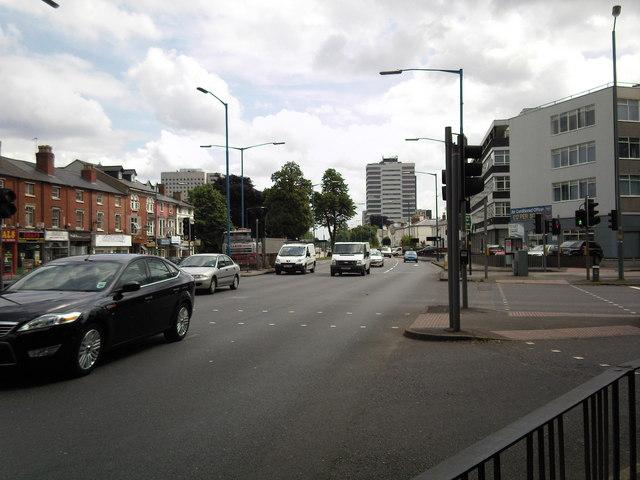 Hagley Road.