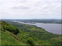 H0657 : Lough Navar Forest viewpoint by Kenneth  Allen