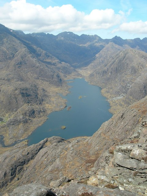 Loch Coruisk from the top of Sgùrr na Stri by Didier Silberstein