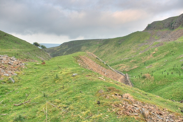 Former Lead Workings at Fore Gill by Mick Garratt