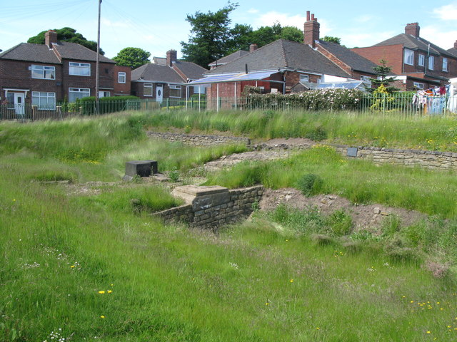 The Vallum crossing at Benwell Fort