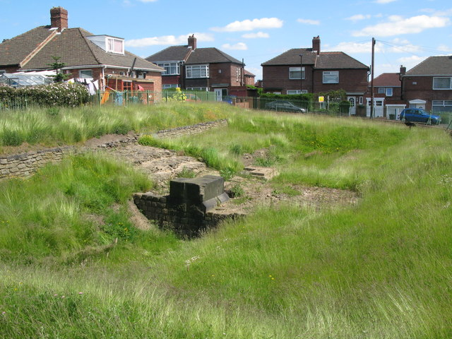 The Vallum crossing at Benwell Fort (2)