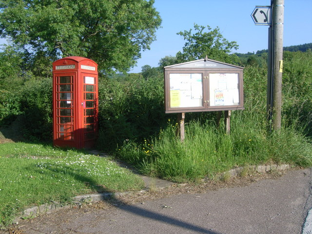Blagdon Hill telephone box