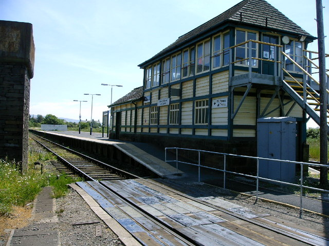 Foxfield Signal Box and Station