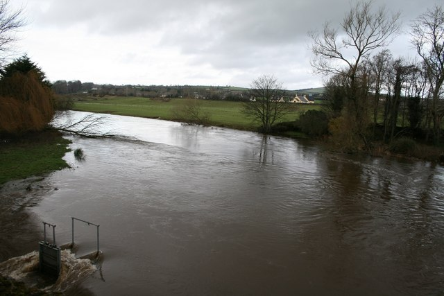 Winter Floods, Clohamon, Co. Wexford