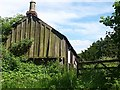 NU1228 : Old Joiners workshop at Twizell Mill by Alfie Tait