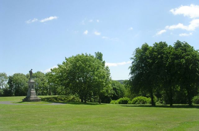 Foster Park - Denholme by Betty Longbottom