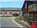 SO9165 : Droitwich Travelodge by Mary and Angus Hogg