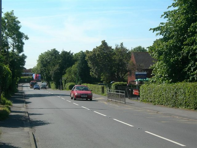 The A443 At Hallow