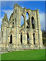 SE5784 : A wall in Rievaulx Abbey by Peter Church