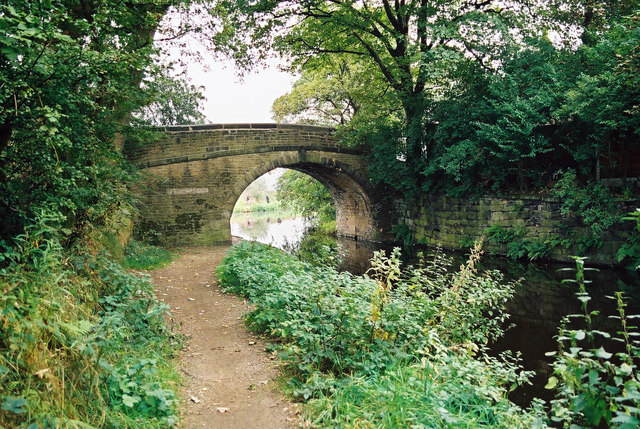 Belfield Bridge, Rochdale Canal