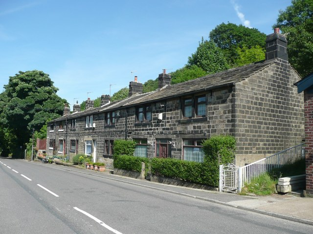 Springfield Terrace, Cragg Road B6138, Cragg Vale, Mytholmroyd