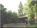 TQ3774 : Bridge under the railway, Ladywell Fields by Stephen Craven