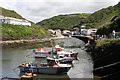 SX0991 : Forrabury and Minster: Boscastle harbour by Martin Bodman