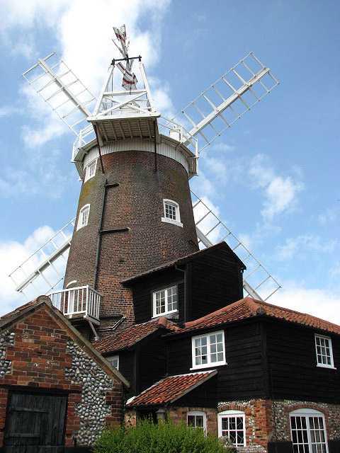 Cley tower mill