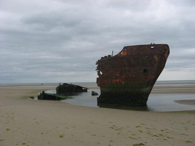 Wreck at Baltray