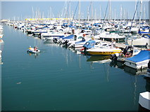 TQ3303 : Brighton Marina by Nigel Cox