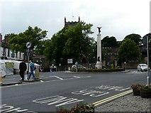 SD9951 : War Memorial by Gerald England