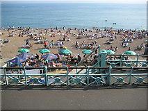 TQ3003 : Brighton beach by Nigel Cox