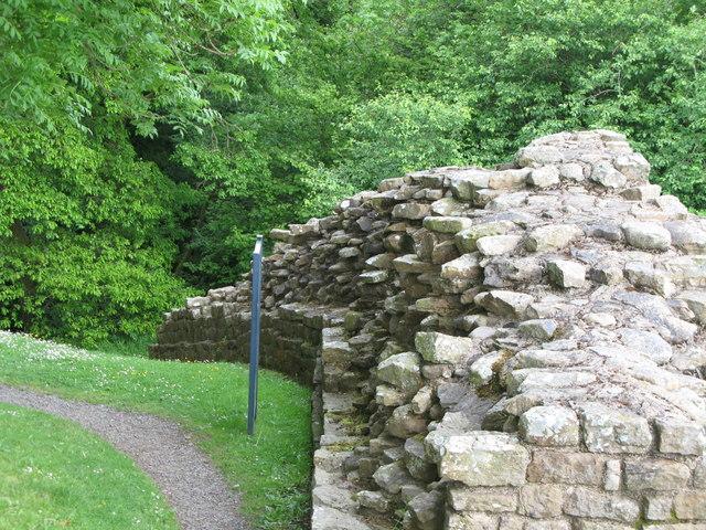 Hadrian's Wall at Milecastle 48 (Poltross Burn)