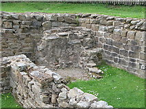 NY6366 : The remains of ovens in the northwest corner of Milecastle 48 by Mike Quinn