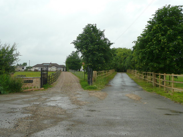 Joint entrance at Sykes Farm