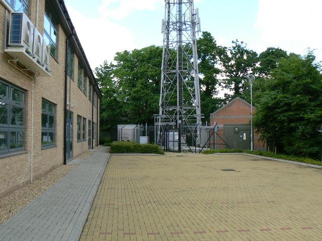 Base of Telecommunications Tower