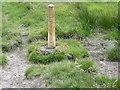 SD7116 : Footpath Junction, Witton Weavers Way by liz dawson
