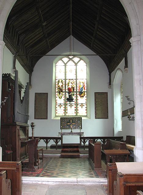 The church of All Saints - chancel