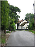 TM0099 : View east along Attleborough Road by Evelyn Simak