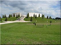 SK1814 : Armed Forces Memorial by Alan Heardman