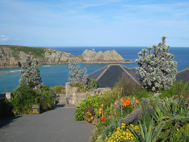 Entrance to the Minack Theatre