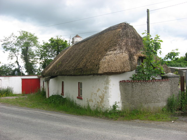 Thatched cottage at Garristown, Co. Dublin