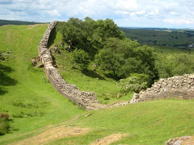 Hadrian's Wall near Walltown © Oliver Dixon :: Geograph Britain ...