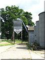 TG0403 : Grain silos by Evelyn Simak