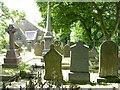 SD7015 : Graveyard, Walmsley Unitarian Chapel by liz dawson