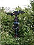 TL4097 : Millennium milepost 2 on NCN 63 by Keith Edkins