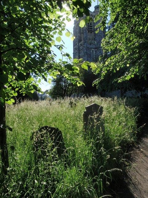 St David's churchyard, Exeter