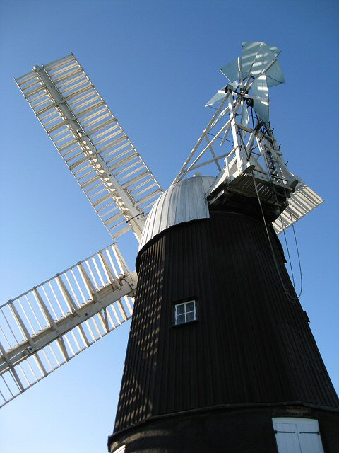 Wicken Windmill from the rear