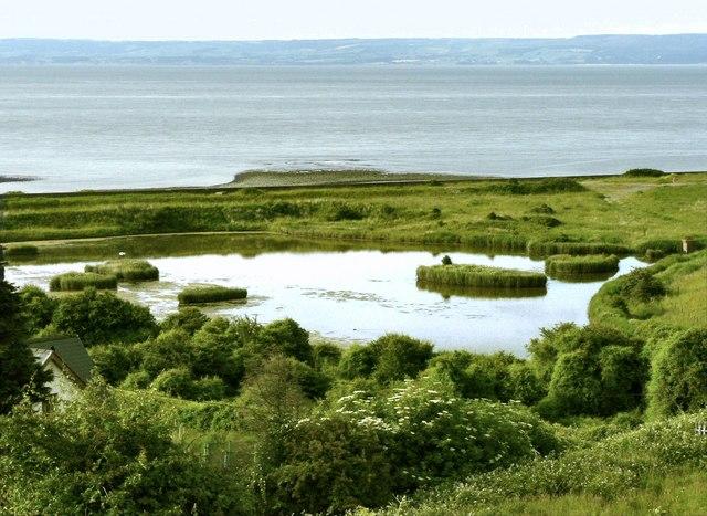 East Aberthaw lagoon