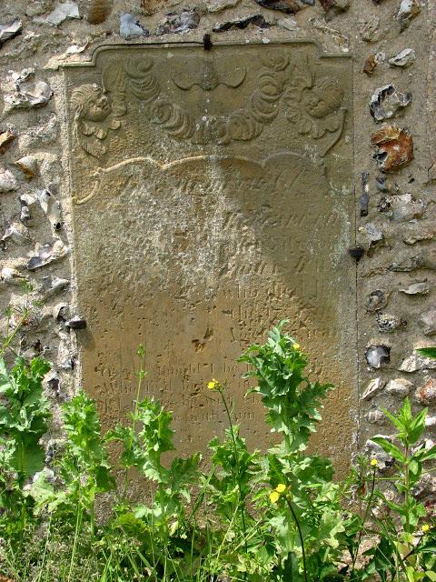 St Mary's church - C18 ledger slab