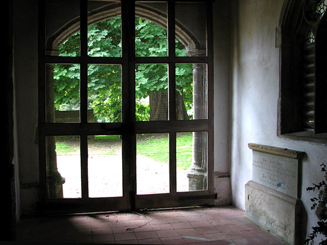 St Mary's church - porch