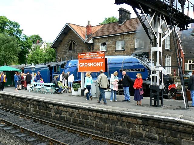 Grosmont Station, North Yorkshire Moors Railway